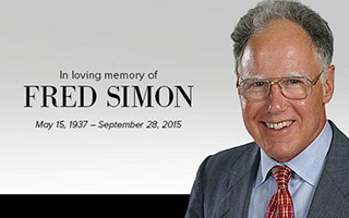 Fred Simon in memorium