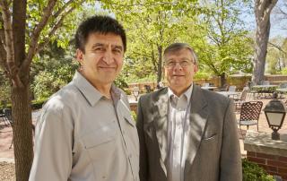Dr. Shoukhrat Mitalipov and Dr. David Crouse