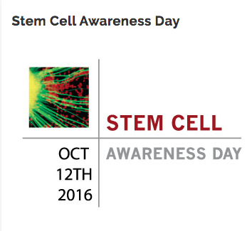 Stem Cell Awareness Day 2016